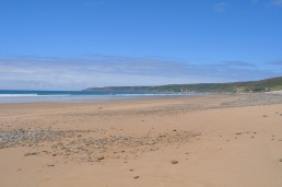 Beach, Normandy, France
