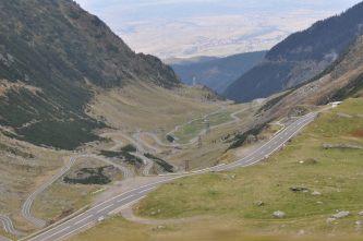 Mountains, Romania, Road